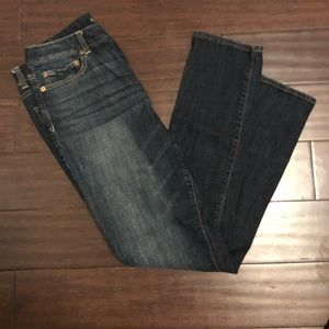 Hi-rise skinny jeans from American Eagle!